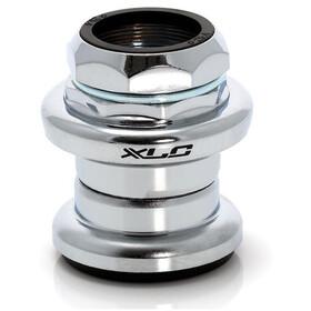 """XLC HS-S02 Serie sterzo 1 1/8"""" EC34/25,4 I EC34/30, argento"""